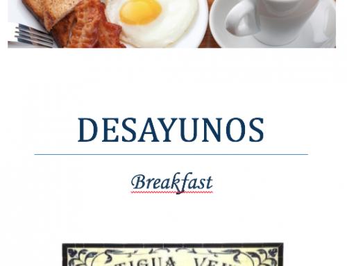 Desayunos Hotel Cortijo San Antonio